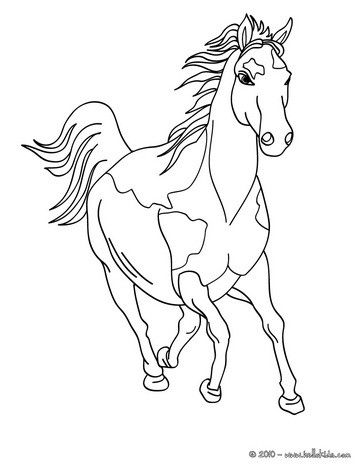 Horse Coloring Page Cute And Amazing Farm Animals Coloring Page For Kids More Coloring Sheets On Hel Horse Coloring Pages Horse Coloring Horse Coloring Books