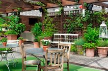 Secret Garden Shoreditch House Small Outdoor Spaces Garden