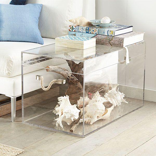 Acrylic Trunk In 2019 F U R N I T U R E Acrylic Furniture