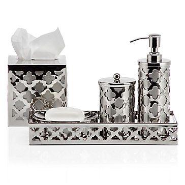 Palomar Vanity Collection | Bathroom Accessories | Storage Organization |  Decor | Z Gallerie | Decorating/Z Gallerie ♡ | Pinterest | Vanities, ...