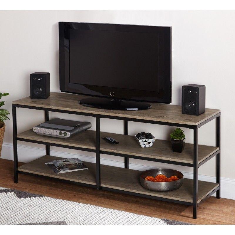 699ff957270 Black Metal Tv Stand - Foter
