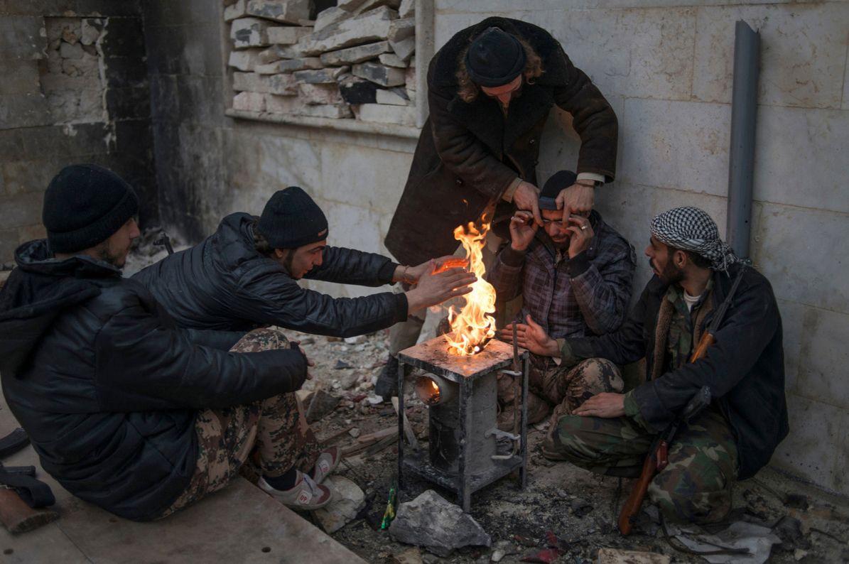 Photographer Eduardo Martins, in Syria and Gaza