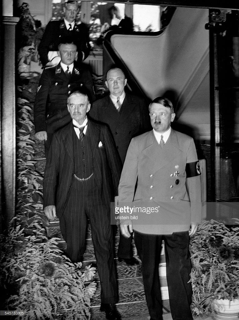 Germany Third Reich Negotiations During The Munich Conference 1938