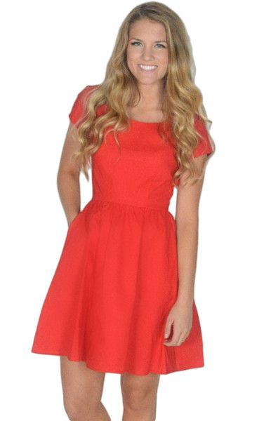 The Sheridan Dress in Red by Lauren James