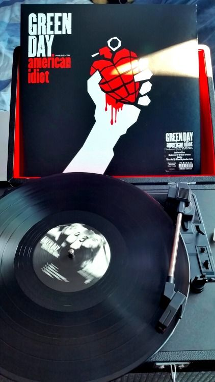 Green Day American Idiot Vinyl Green Day Vinyl Record