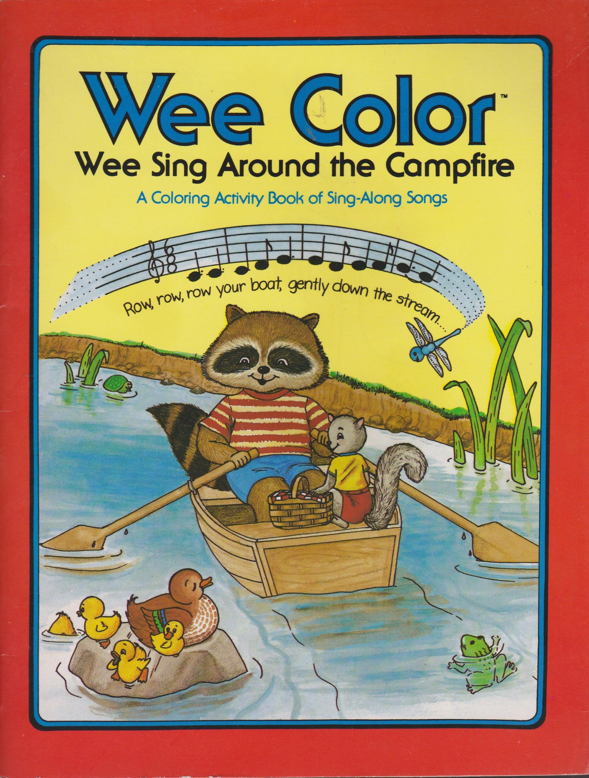 """Pamela Conn Beall and Susan Hagen Nipp - """"Wee Sing Wee Color"""": Around the Campfire (Price/Stern/Sloan)"""