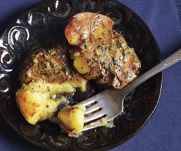 Crispy Potatoes With Lemon And Lots Of Oregano