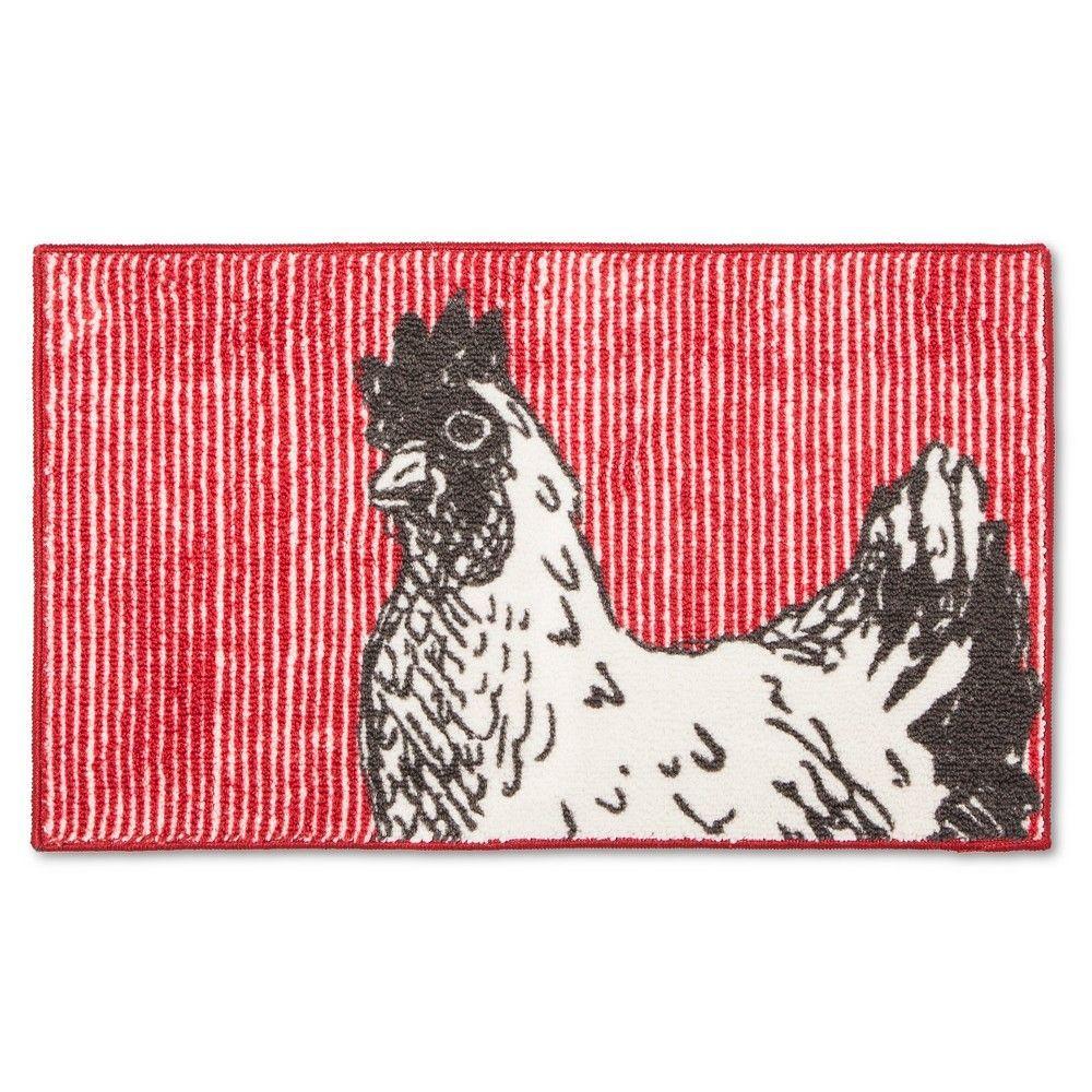 throw grey (50x60) - sabrina soto, red | chicken kitchen