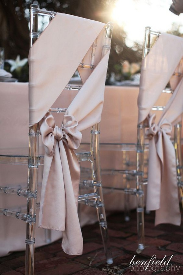20 Elegant Wedding Chair Decoration Ideas with Fabric and Ribbons – Page 2 of 2