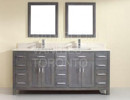 Bathroom Vanities Toronto Kl75sb French Gray