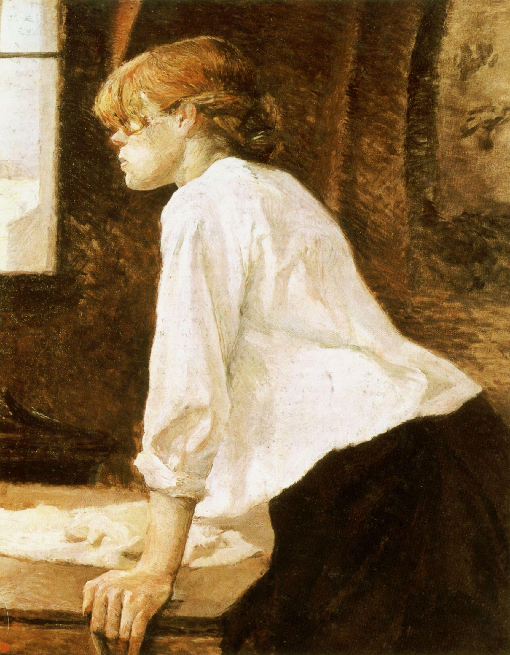 La Blanchisseuse - Henri de Toulouse-Lautrec