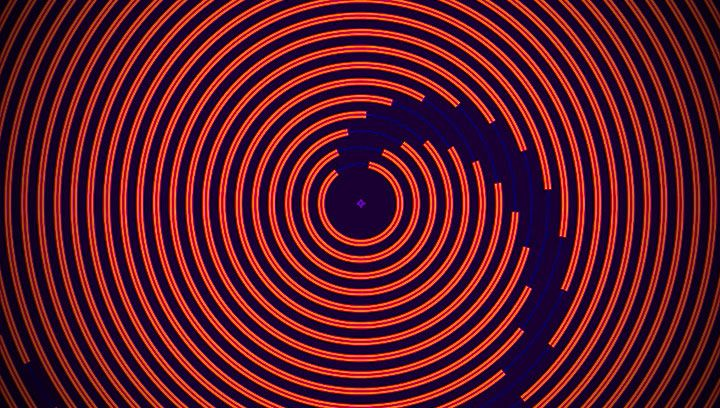 How to control animated concentric circles in After Effects using an - animation circles