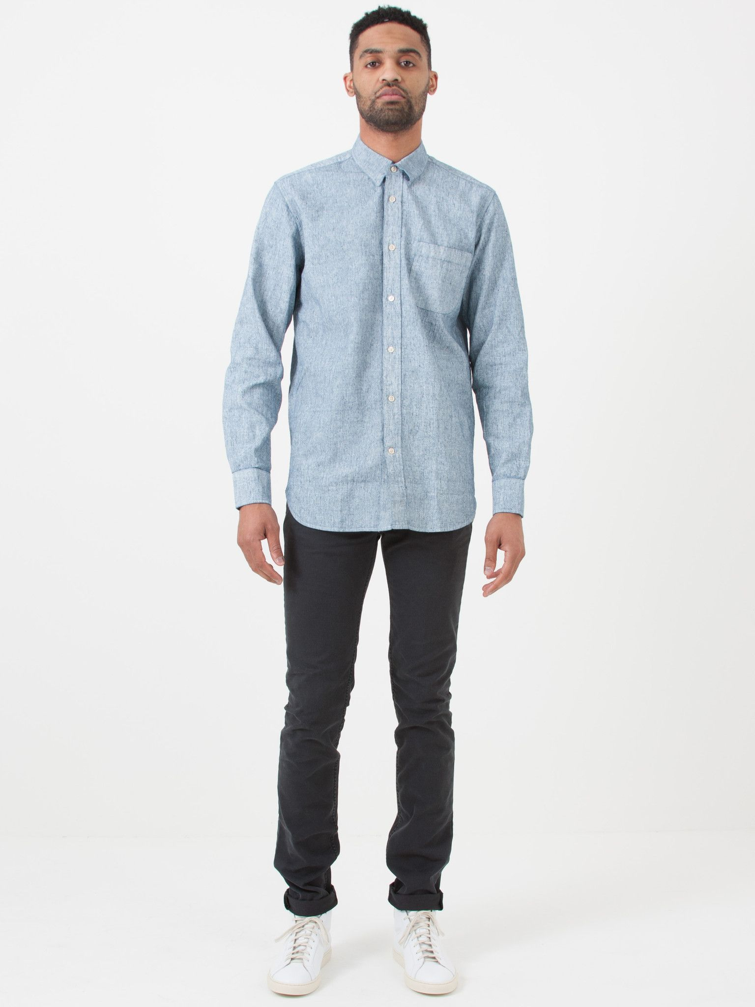 Our Legacy Coated White Generation Shirt