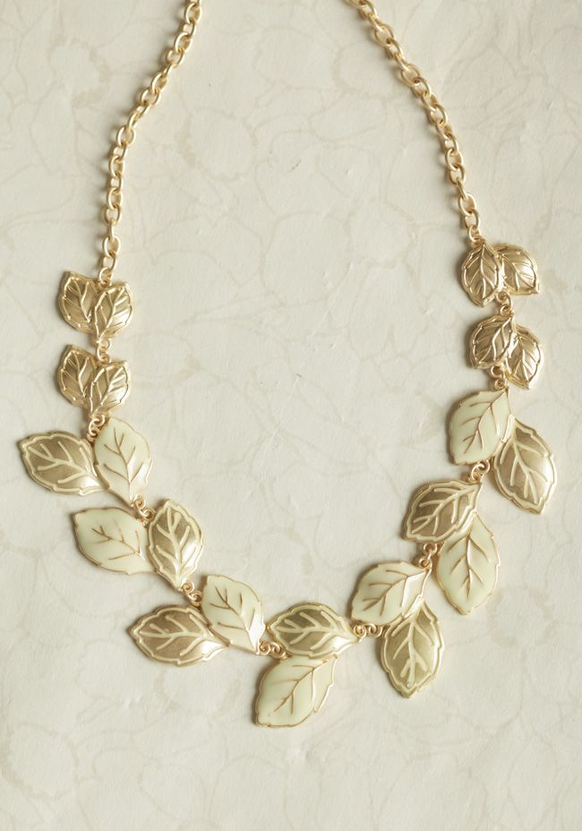 New Day Leaf Necklace at #Ruche @Ruche