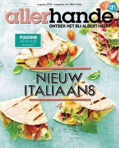 Deze maand: nieuw Italiaans. Simpel, bewust en boordevol smaak.
