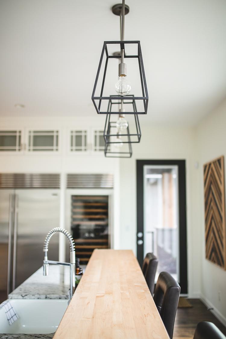 Modern Farmhouse Kitchen Pendant Lighting Latern Pendant Light