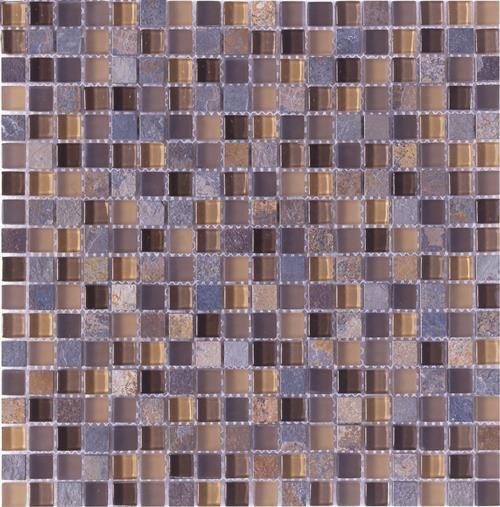 "#Interceramic - Pietra Cristal Autumn 12"" x 12"" Mosaic"