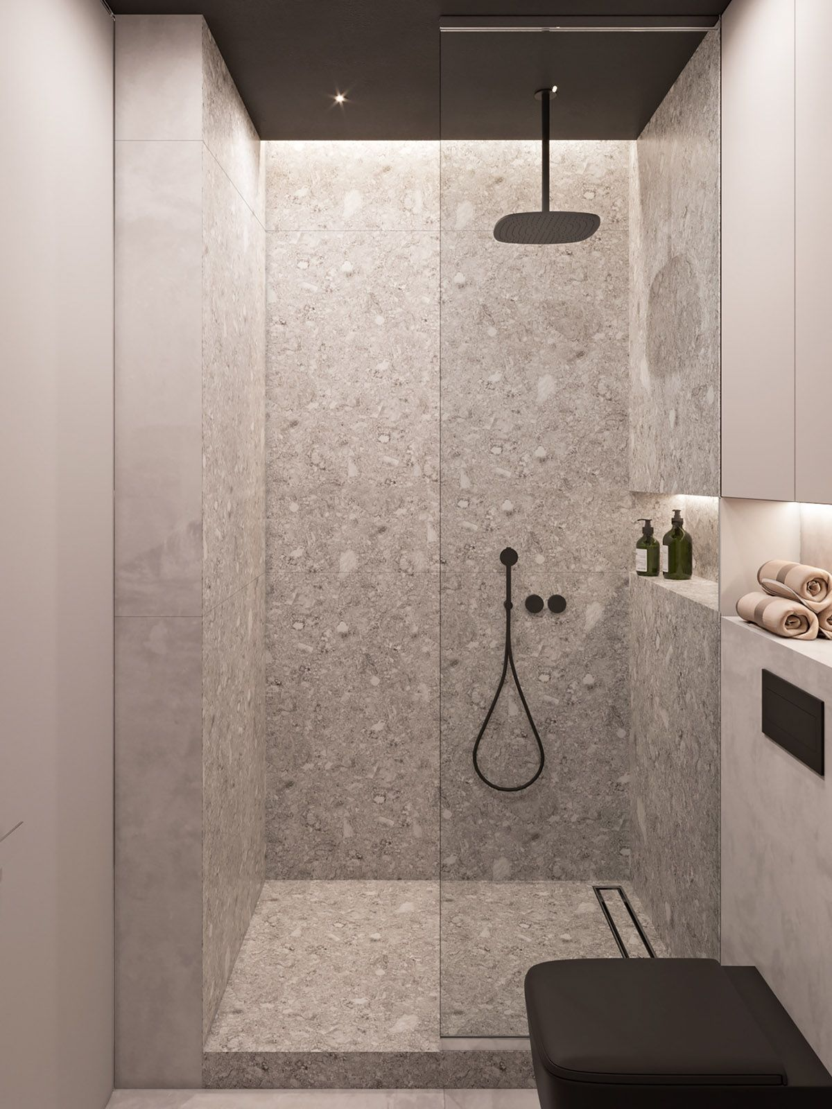 Moderne Badezimmer Fliesen Orange | Preview
