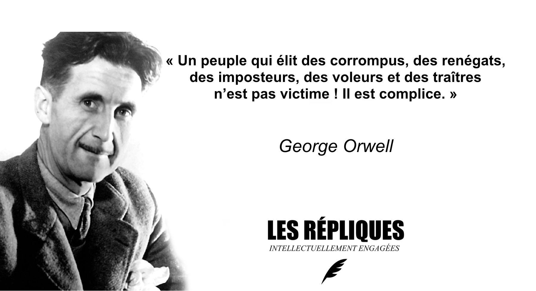 Resultat De Recherche D Images Pour Citation Georges Orwell