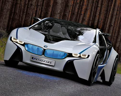BMW Vision Efficient Dynamics Concept 1 I Want This Car!