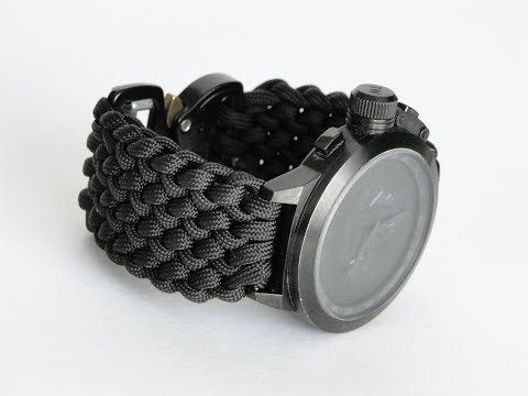 How To Make A Conquistador Paracord Watch Band Diy Watchband Cbys