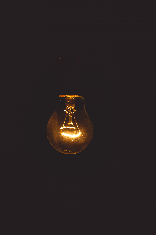 Photo Manipulation In Adobe Photoshop In 2020 Light Bulb Dark Wallpaper Black Wallpaper