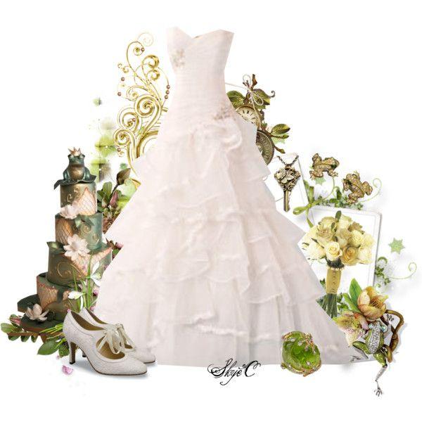 Princess Tiana Wedding - Disney\'s Princess and the Frog\