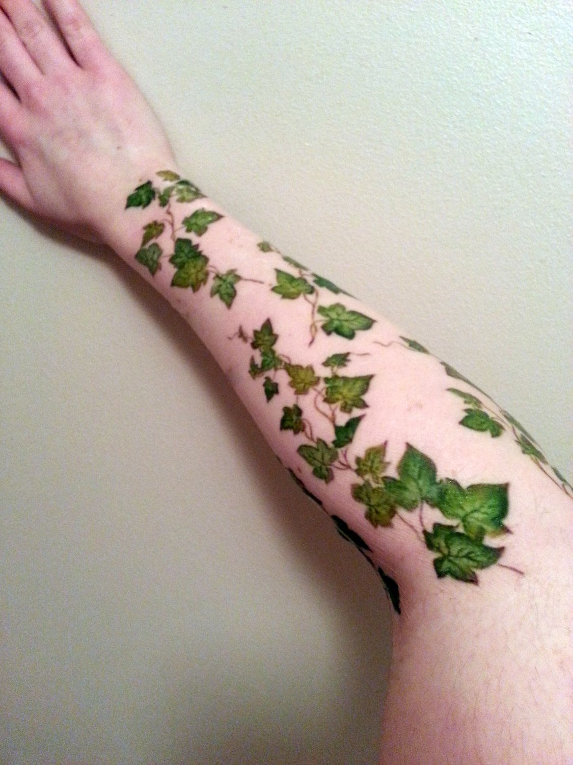 cd7faad49 Ivy Vine Tattoo Arm Wrap Tattoo Sleeve Tattoo by InsanityINK ...