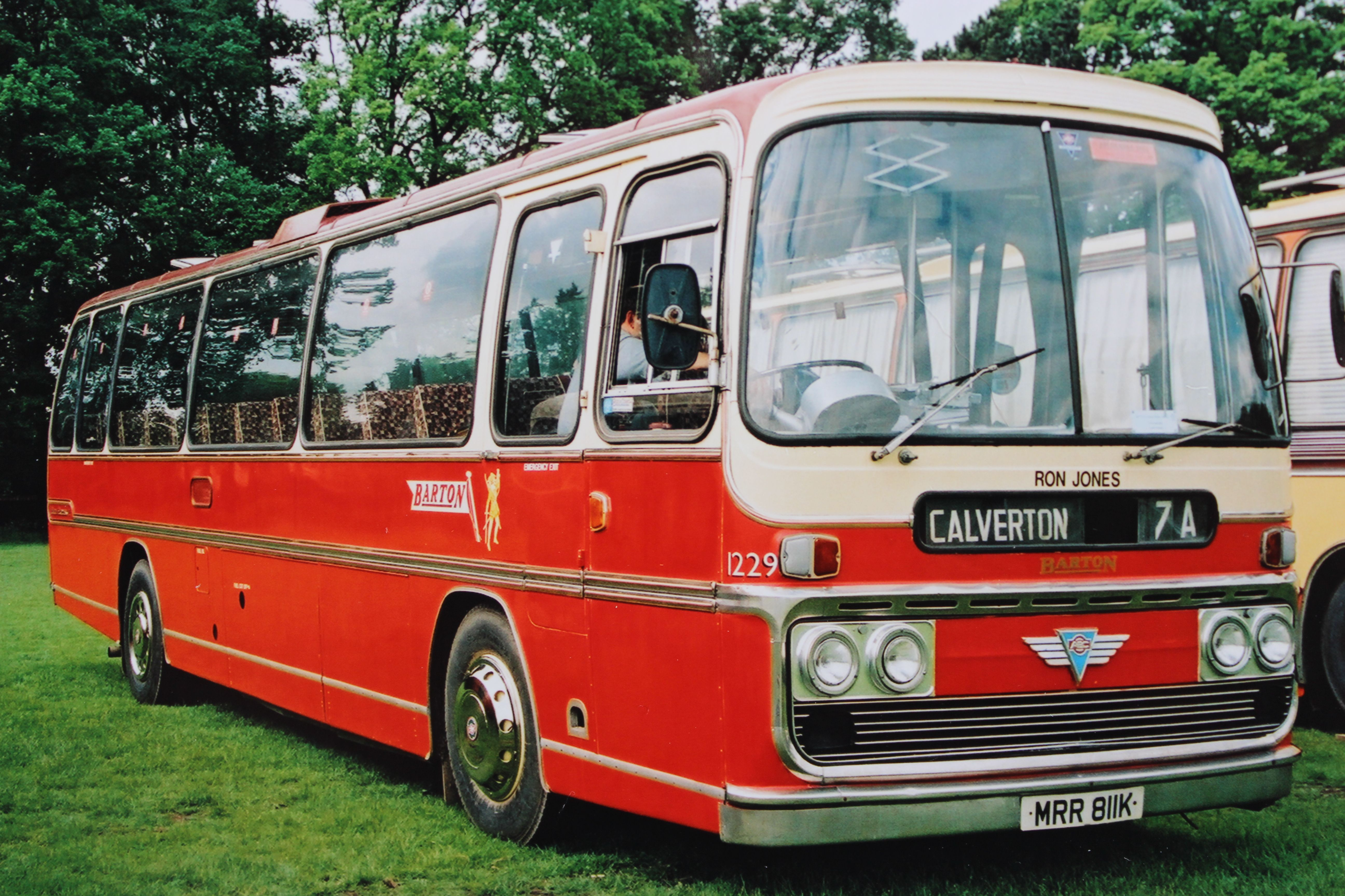 Plaxton Elites The High Capacity Bus Seating Can Quite Clearly Be Seen In This Photograph Of Elite Bodied Aec Reliance Bus Coach Bus Commercial Vehicle