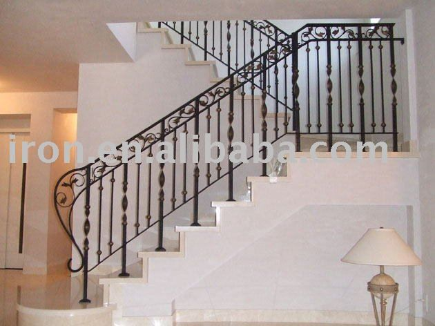 Wrought Iron Decoration Stair Railings