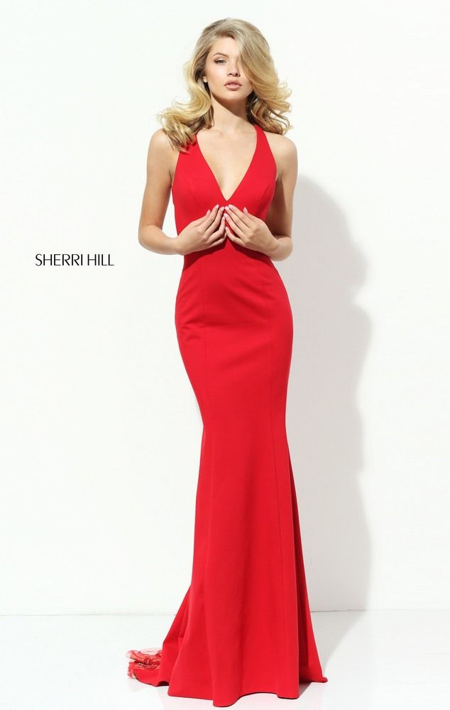 Red Long Dresses for Prom Night