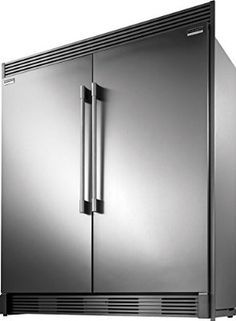 Frigidaire Professional Stainless Steel Refrigerator Freezer Combo Trim Fpru19f8rf Fpfu19f8rf Trimkitez2