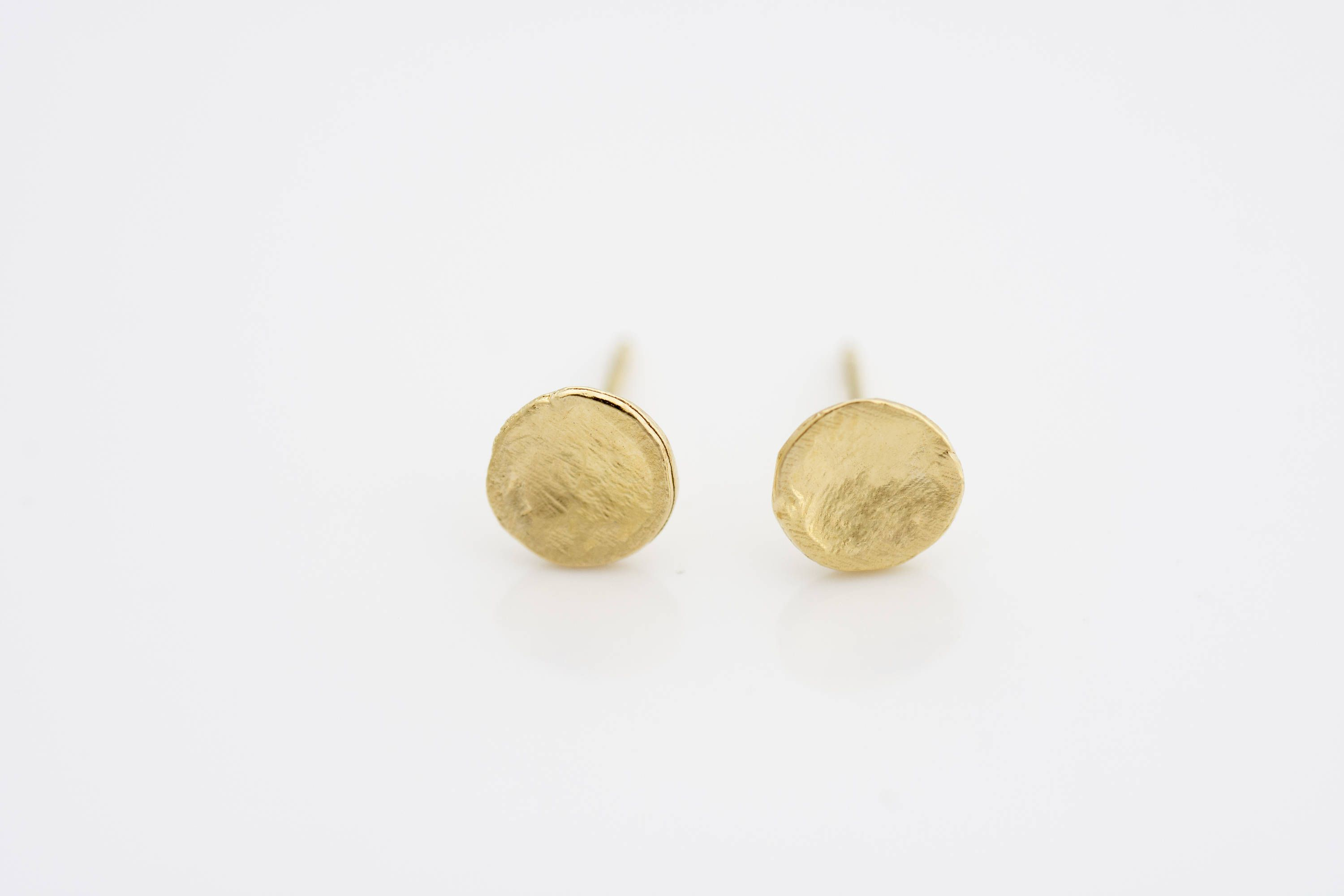 tiny gold listing fullxfull small earrings posts circle studs round stud il