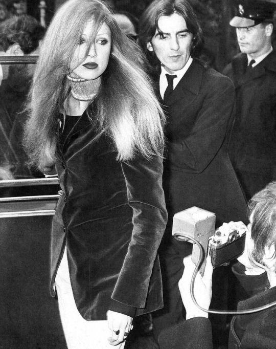 Pattie Boyd George Harrison March 31 1969