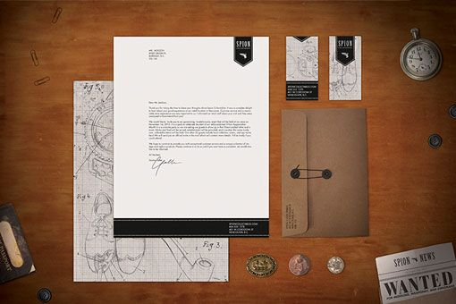 Spion Identity and Packaging