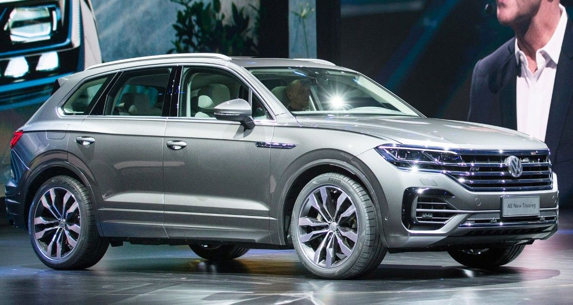 The New 2019 Vw Touareg Model Is Ready To Look Here Our