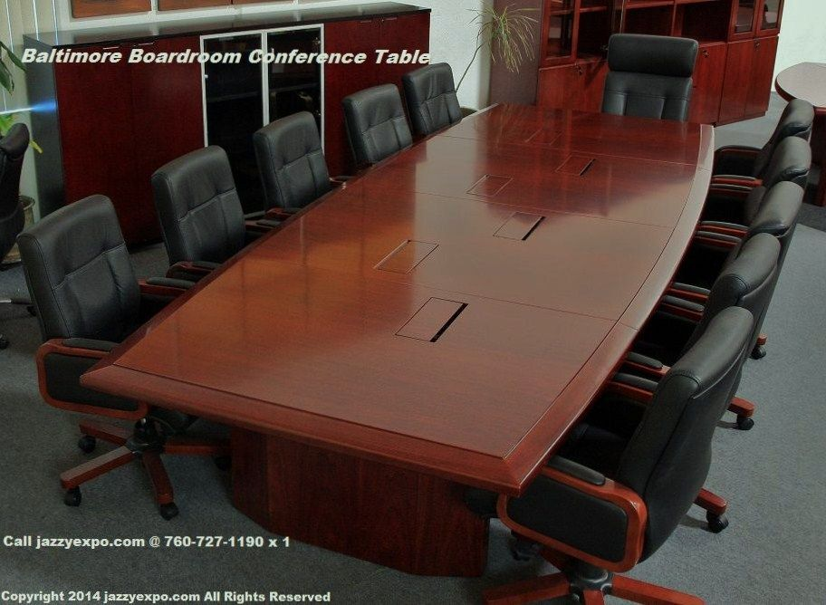 Baltimore Conference Table Data Port Panels Closed Conference Table Boardroom Table Modern Modern Conference Table
