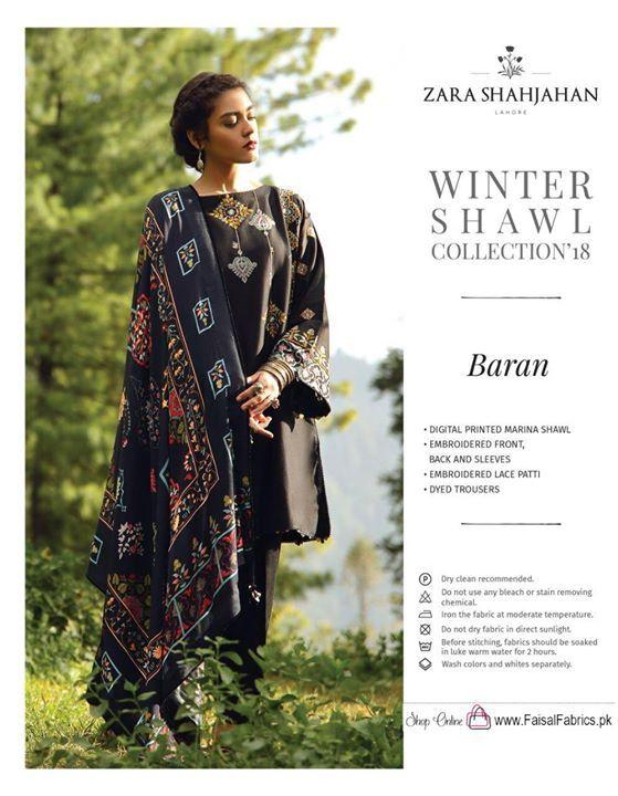 42de04d5 Faisal Fabrics. Album Name : Zara Shah Jahan Winter shawls collection ...
