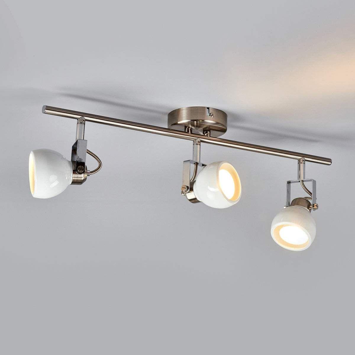 Deckenstrahler Nima 3 Flammig Von Lampenwelt Com Deckenstrahler Strahler Beleuchtung Decke