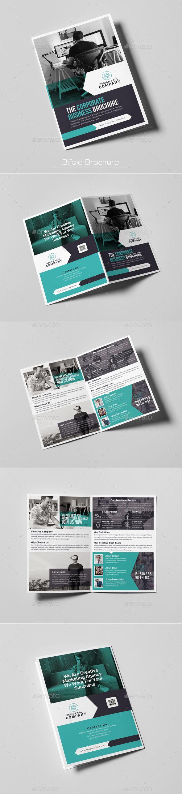 Bifold Brochure   Editorial, Folletos y Diseño editorial