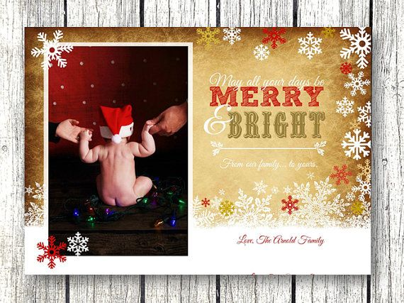 Hey, I found this really awesome Etsy listing at https://www.etsy.com/listing/211009372/gold-christmas-photo-card-prints-or