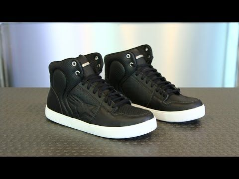 d724e916cb Alpinestars Anaheim Riding Shoe from Motorcycle-Superstore.com - YouTube