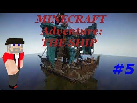 Minecraft Adventure: The Ship part 5 3 locks