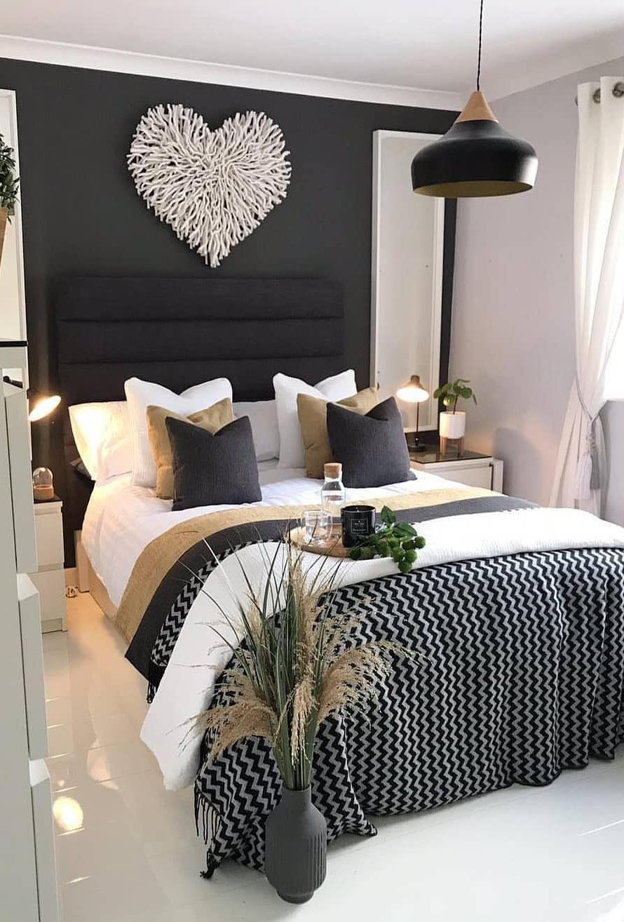 45 Beautiful And Modern Bedroom Decorating Ideas For This Year Page 7 Of 45 Lasdiest Com Daily Women Blog Modern Bedroom Decor Bedroom Decor Master Bedrooms Decor