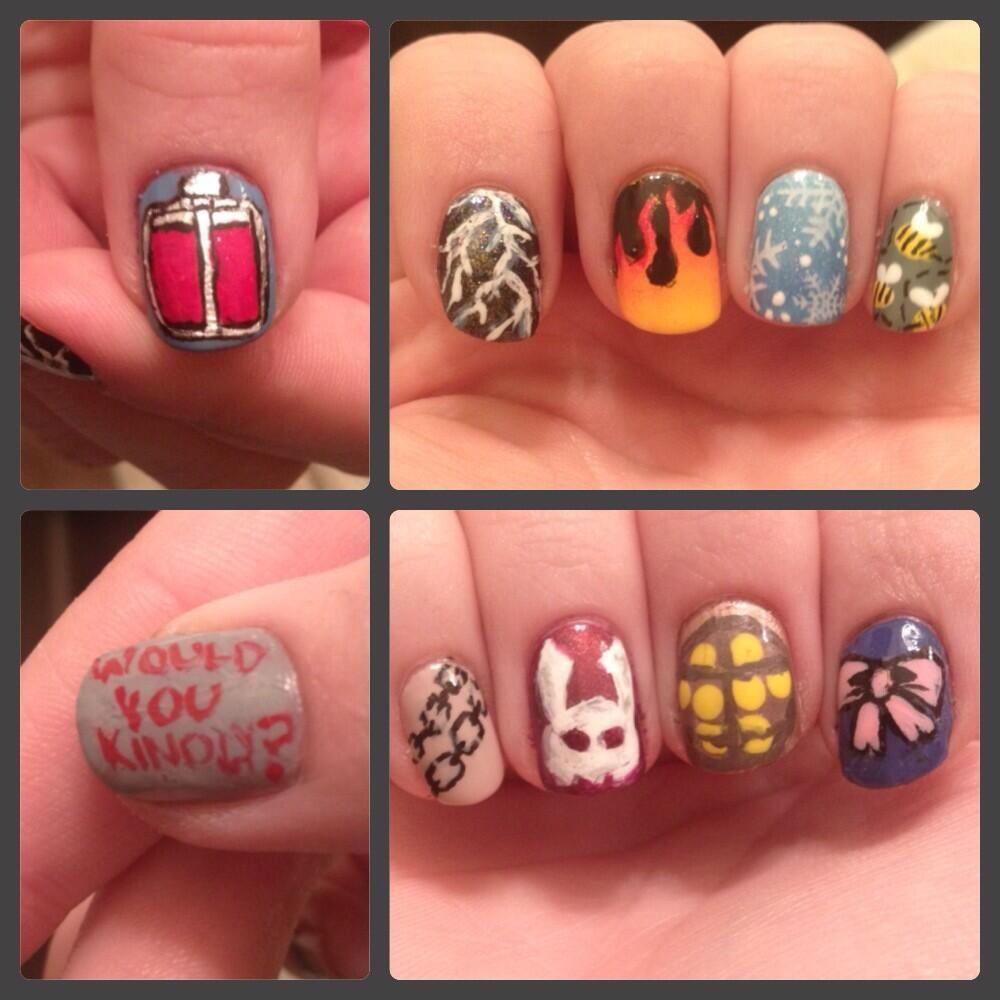 Anna on | Bioshock, Nail art videos and Girls nails