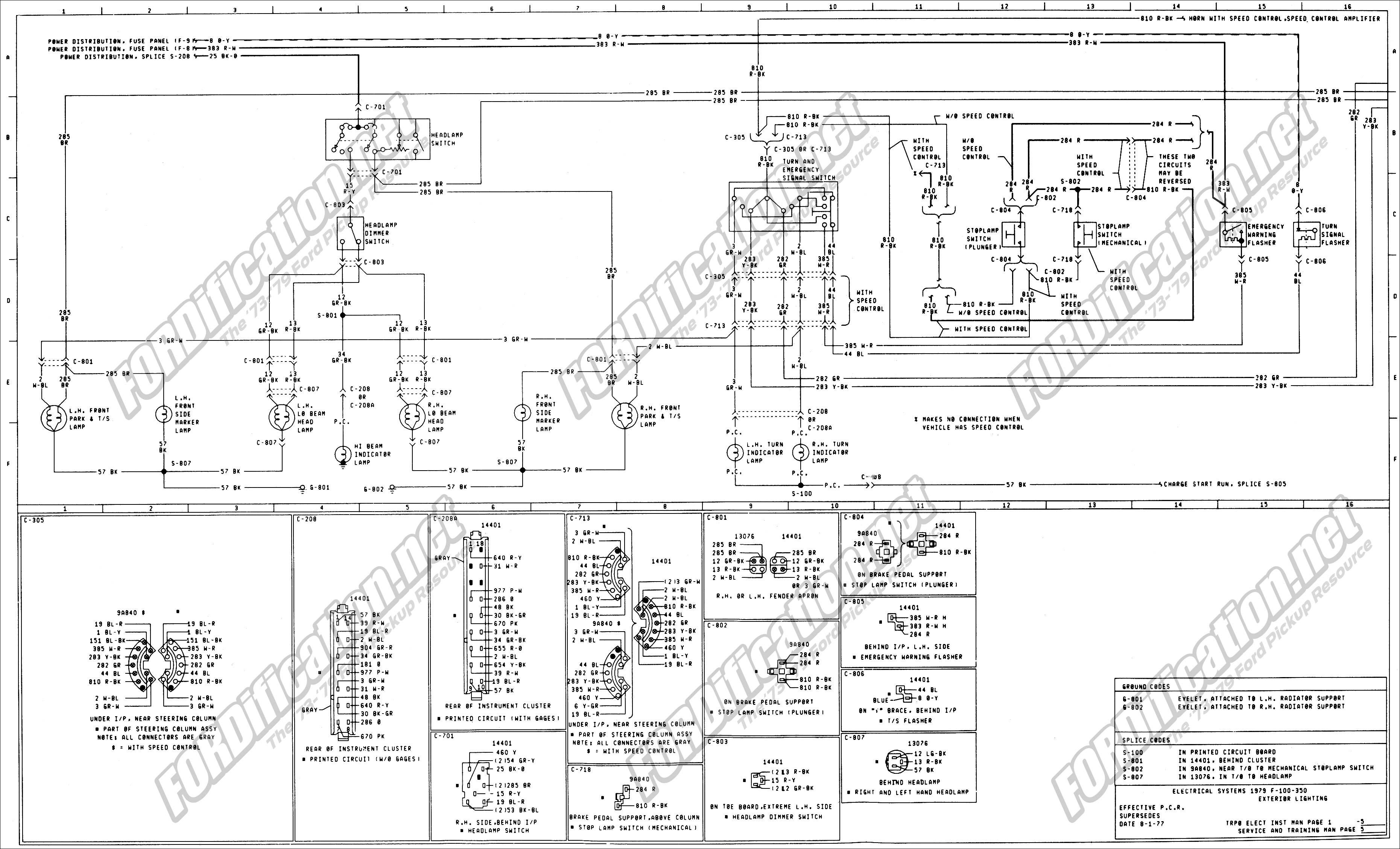 1973 1979 Ford Truck Wiring Diagrams Schematics Ford F150 Diagram Ford Fusion