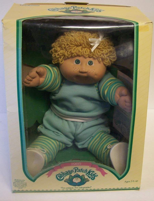 Coleco Jesmar Cabbage Patch Kids 1985 Blonde Hair Girl Doll W Freckles New Cabbage Patch Kids Dolls Cabbage Patch Kids Vintage Cabbage Patch Dolls