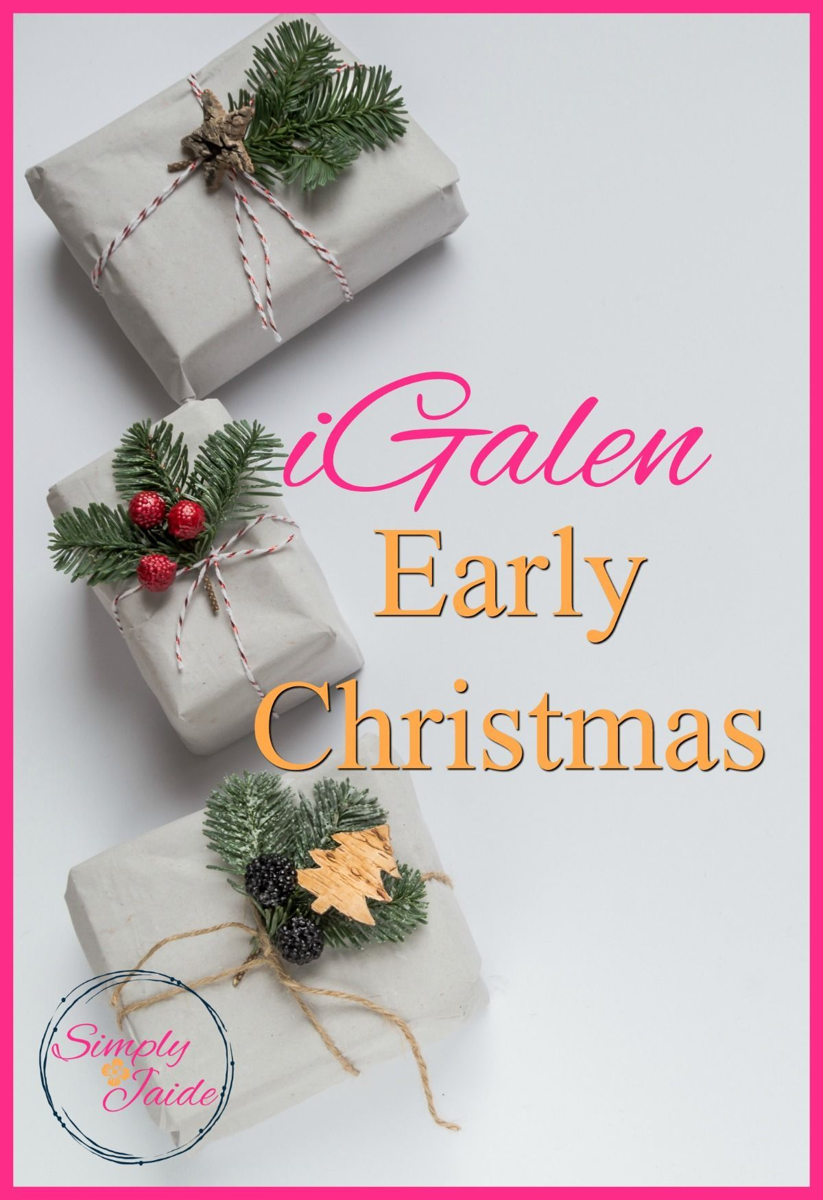 Join iGalen; Early Christmas Promotion | POST YOUR BLOG! Bloggers ...