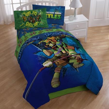 Nickelodeon Teenage Mutant Ninja Turtles Sheet Set 1 Each Walmart Com Tmnt Bedding Ninja Turtle Bedroom Kids Bedding Sets