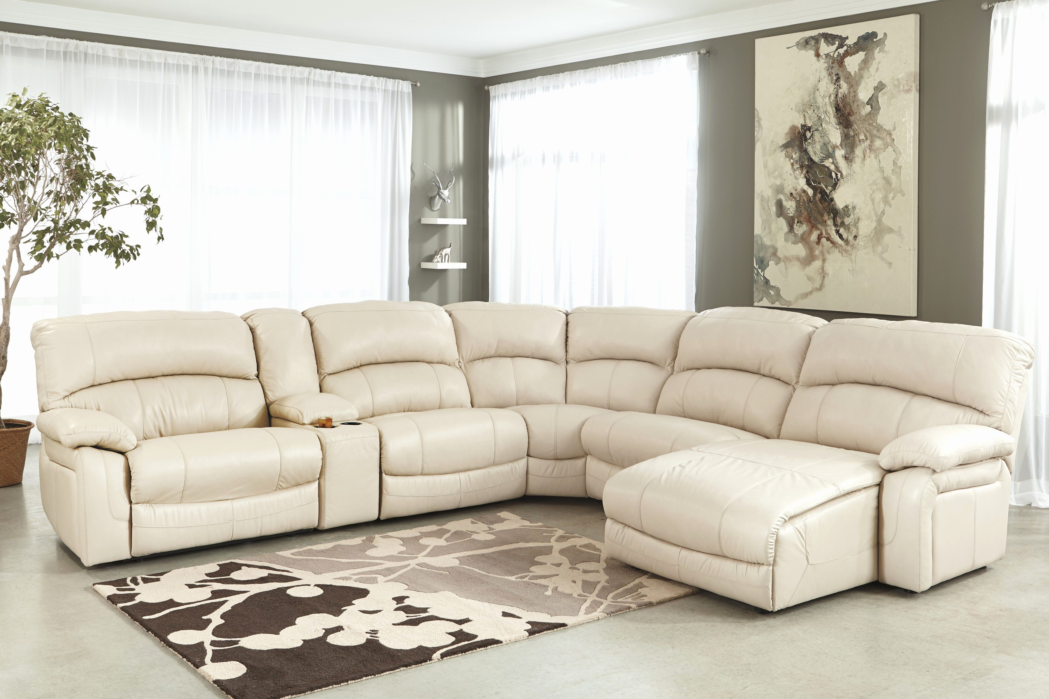 New Cream Sectional Sofa Pics Cream Leather Sectional Sofa With